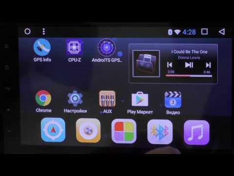 Обзор штатной  магнитолы LeTrun на андроиде 6.0.1 с большим экраном