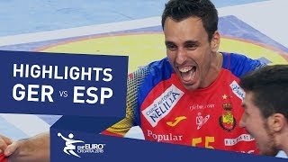 Highlights | Germany vs Spain | Men's EHF EURO 2018