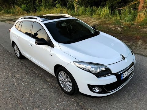 Renault Megane III тест-драйв обзор