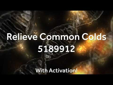 Grabovoi Numbers - Relieve Common Colds - 5189912 (with activation!)