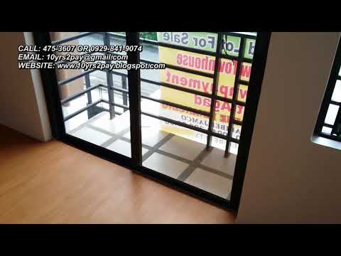 Las Pinas Townhouse For Sale | 4.47M Near RFC And Manuela