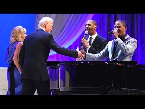 Joe and Jill Biden Dance As Jamie Foxx...