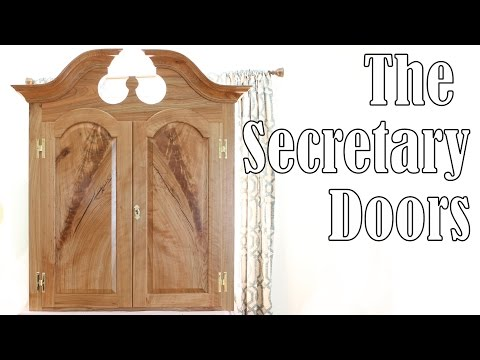 Making the Secretary Desk Doors