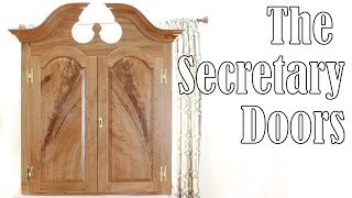 This time we go all the way back to a tree standing in the forest as we build the doors for the upper case of the secretary. There is a