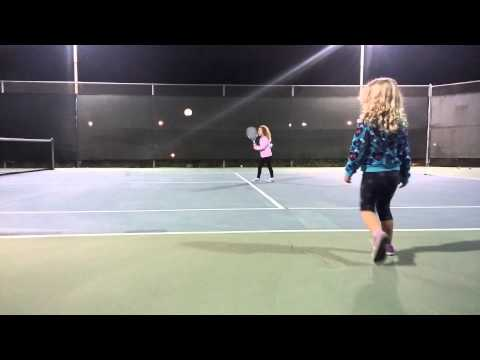Tennis Training 2014