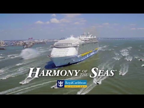 Harmony of the Seas leaves STX Shipyard, France