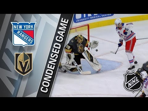 New York Rangers vs Vegas Golden Knights – Jan. 07, 2018 | Game Highlights | NHL 2017/18.Обзор матча