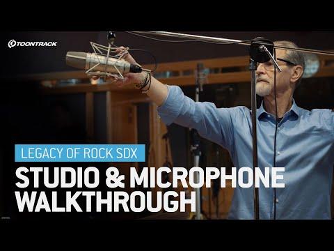 Legacy of Rock SDX – Studio & Microphone Walkthrough
