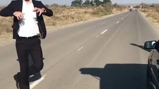Чеченские танцы на дорогах