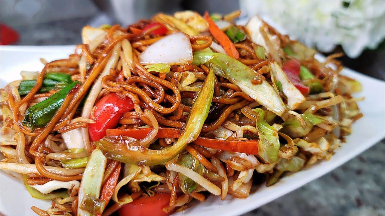 ЧАУ МЕН |  Как приготовить лапшу чау-мейн |  Соус Easy Chow Mein