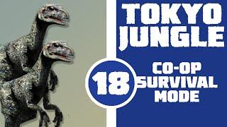 Let's Play Tokyo Jungle Co-op (Survival Mode) Part 18 - JURASSIC PARK! (Deinonychus)