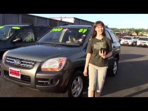 2007 Kia Sportage LX (Stock #96300) At Sunset Cars Of Auburn