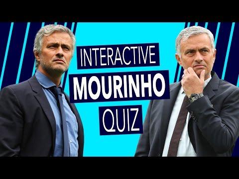How well do you know José? | Interactive Mourinho Quiz