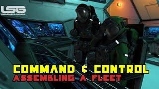 Space Engineers - Command & Control Center Concept Assembling A Fleet Part 9