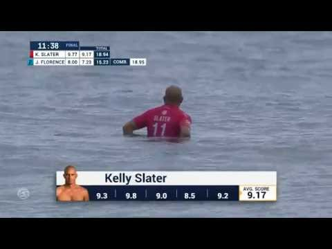Kelly Slater Air Drops for a 9.17