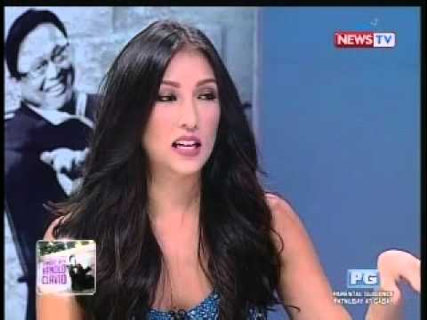 French language lessons kasama si Solenn Heussaff (Tonight with Arnold Clavio)