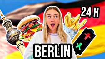 24 Stunden in BERLIN ESSEN - die besten Restaurants ever! Food Diary meine Ernährung *Challenge* PIA