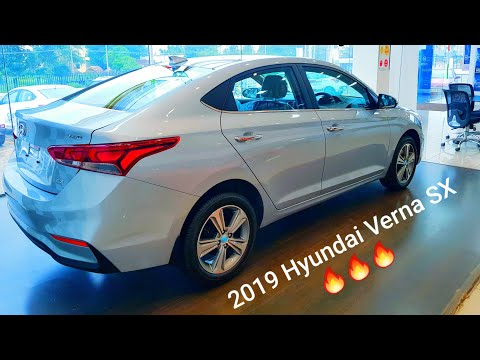 Hyundai verna SX 2019 value for money variant detailed review | features | projector headlights