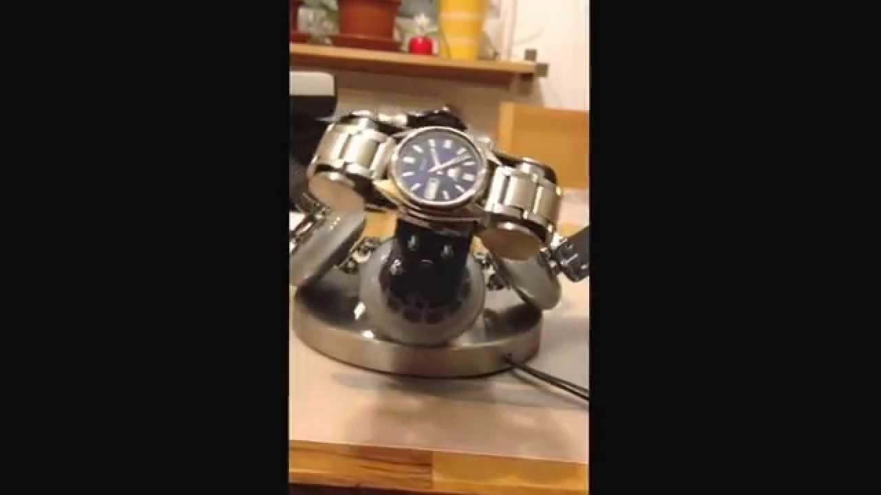 uhrenbeweger selbstgebaut, homemade watch winder