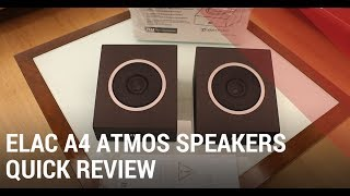 ELAC A4 Review – Dolby Atmos Home Theater Speakers India
