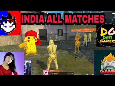 Tsg ! Sooneeta ! Desi Gamers All Matches in Streamer Showdown Turnament ! Garena Freefire