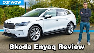Skoda Enyaq EV 2021 review - tested from 0-60mph! LOL