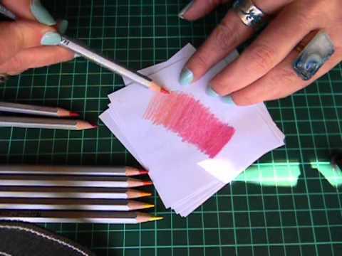 T cnica pl sticas i l pices de colores marita - Como hacer colores ...