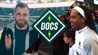 Wir treffen RONALDINHO! 😱 + Prince Boateng, Ailton, van der Vaart uvm. beim Game of Champions!