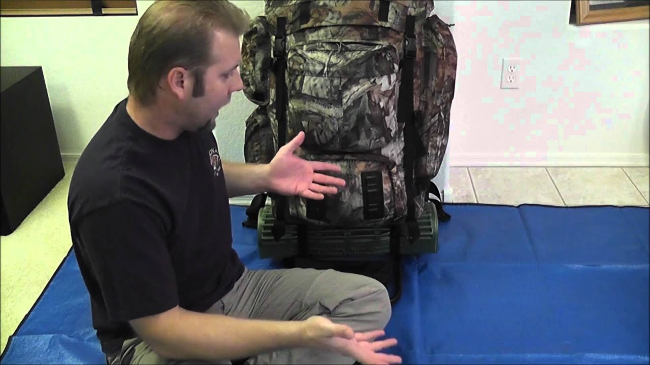 7 Day Wilderness Backpack Series (Alaskan II Framepack) Part1 - YouTube
