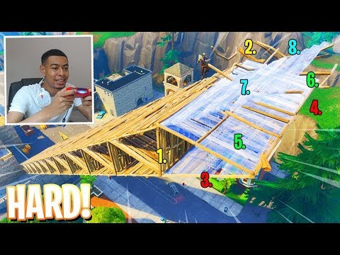 FORTNITE 8 LAYER RAMP RUSH TUTORIAL