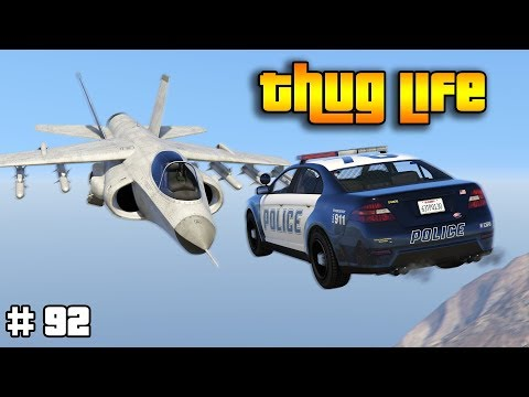 GTA 5 ONLINE : THUG LIFE AND FUNNY MOMENTS (WINS, STUNTS AND FAILS #92) thumbnail