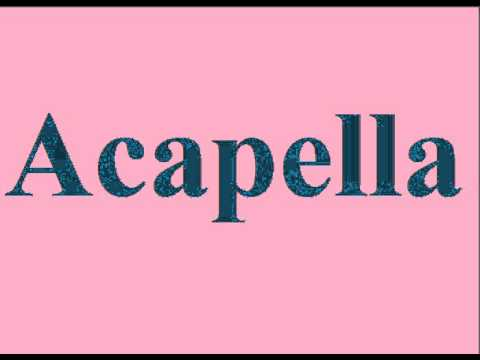 Acapella Groups Singing Famous Songs Playlist