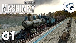 Mashinky - Ep. 1 - Brand New Transport Strategy Game - Early Access Alpha - Mashinky Gameplay