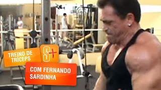 Fernando Sardinha - Treino de de Tríceps