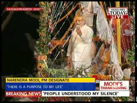 Modi in Varanasi: There's potential in this town and her people
