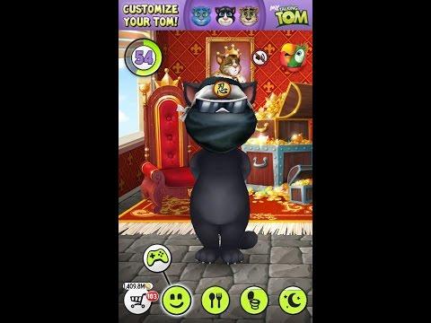 My Talking Tom 100 уровней за 1 день  как прокачать говорящего кота бесплатно