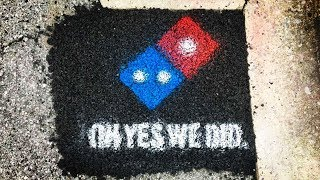 Libertarian Utopia? Domino's Pizza Now Filling Potholes.