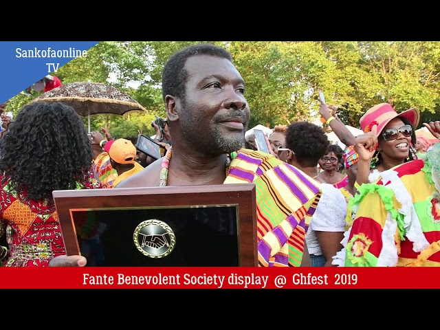Fante Benevolent Society @Ghanafest 2019