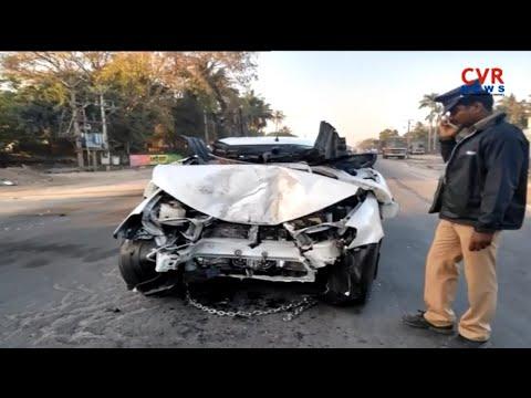 AIADMK's Villupuram MP S. Rajendran Lost His Life In Road Accident In Tindivanam l CVR NEWS
