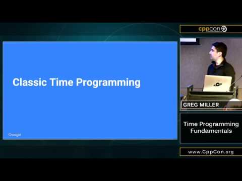 "CppCon 2015: Greg Miller ""Time Programming Fundamentals"""