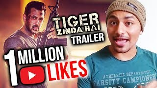 Tiger Zinda Hai Trailer CREATES HISTORY | Crosses 1 Million Likes On Youtube | Salman Khan, Katrina