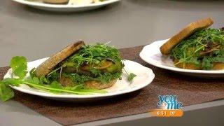 Purple Sprout Cafe's Vegan Hemp Burgers