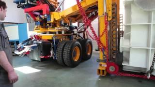 Aravis Levage, cuve de soudage Techmeta de 35 tonnes.