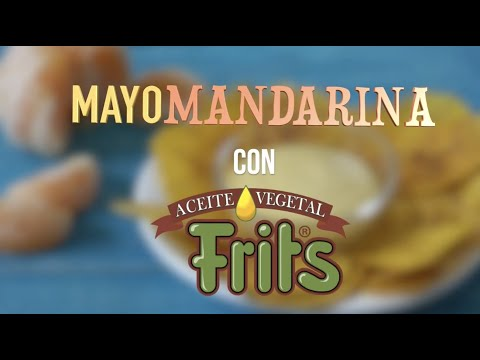 Receta MayoMandarina - Frits 100% Soya