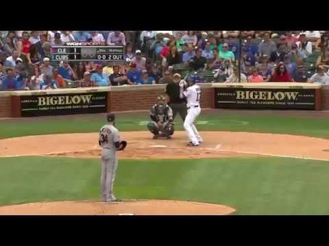 Kris Bryant Walk Off Home Run (8-24-2015)