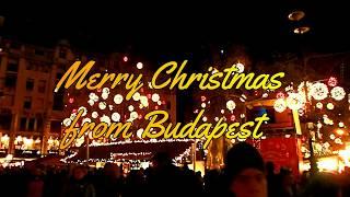 [ブダペスト] クリスマスマーケットのプロジェクションマッピング ~Projection mapping at Christmas market in Budapest