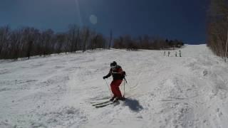 Ski VLOG à Stowe, Vermont - 9 avril 2017 - GoPro