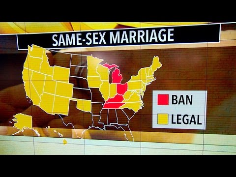 same sex marriage bans