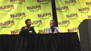 Matt Ryan answering Questions at his Tampa Bay Comic Con Panel 2015