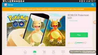 Pokémon go no roblox ( ROBLOX) #2